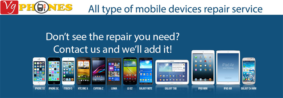 repairs all kind of mobile devices